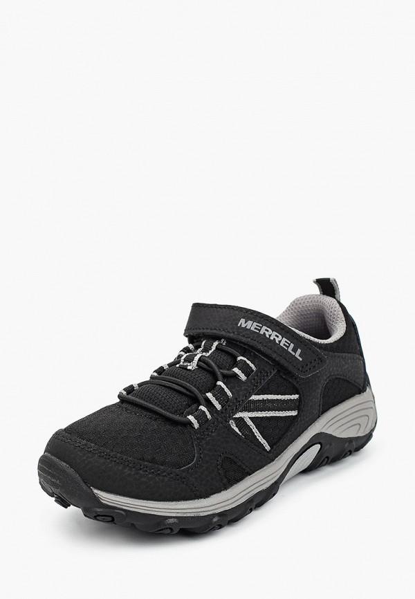 Кроссовки для мальчика Merrell цвет черный  Фото 2