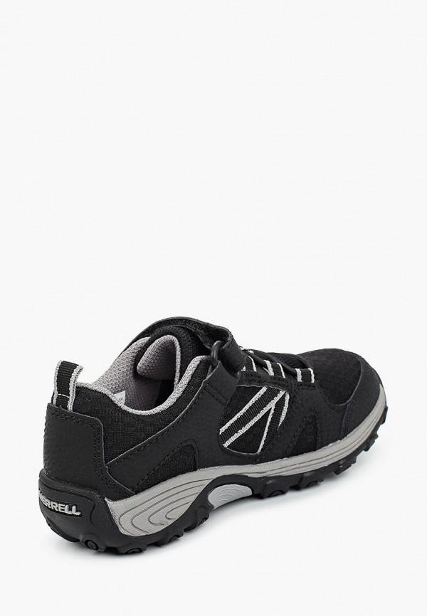 Кроссовки для мальчика Merrell цвет черный  Фото 3