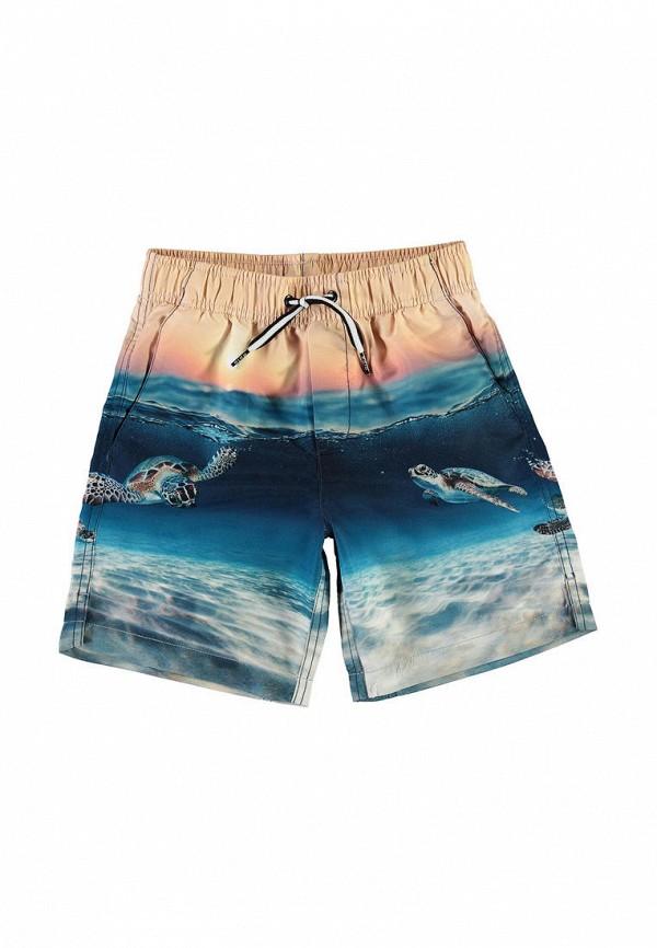 Шорты для мальчика для плавания Molo цвет синий