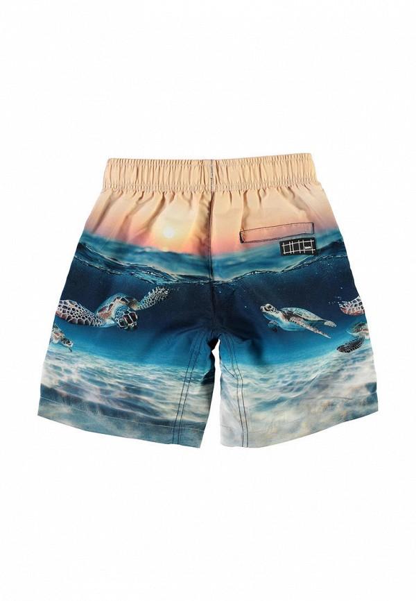 Шорты для мальчика для плавания Molo цвет синий  Фото 2