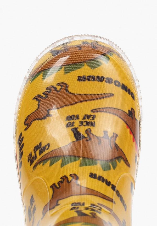 Резиновые сапоги Coccodrillo цвет желтый  Фото 4