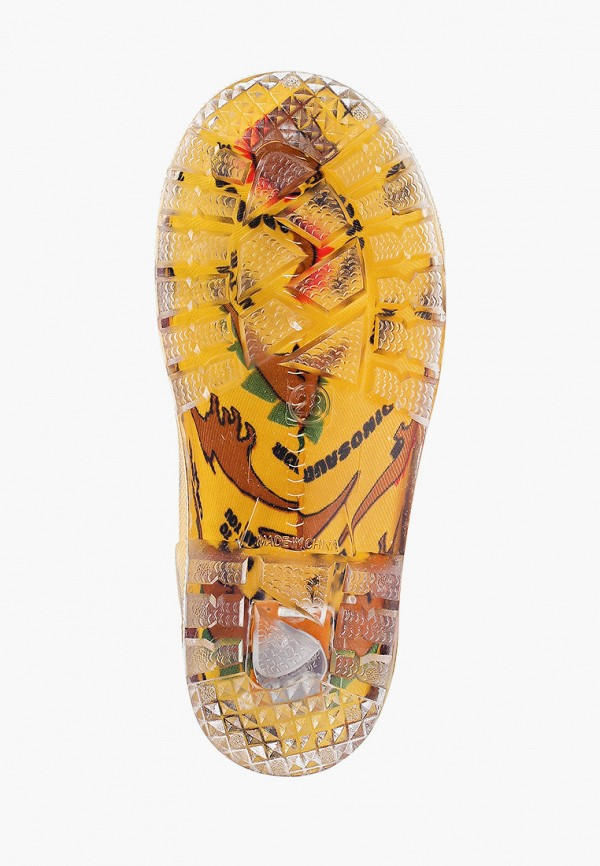 Резиновые сапоги Coccodrillo цвет желтый  Фото 5