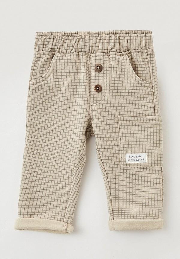 спортивные брюки coccodrillo для мальчика, бежевые