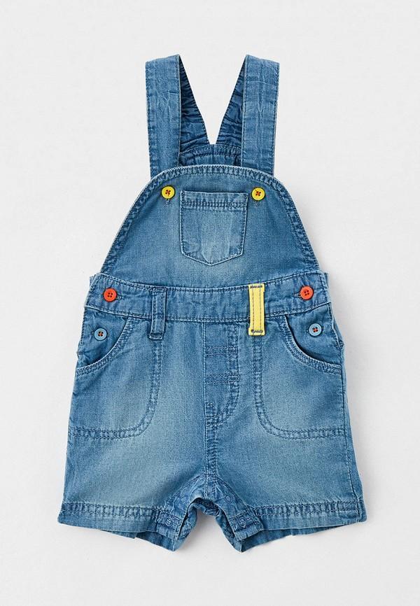 Комбинезон джинсовый Coccodrillo Coccodrillo  голубой фото