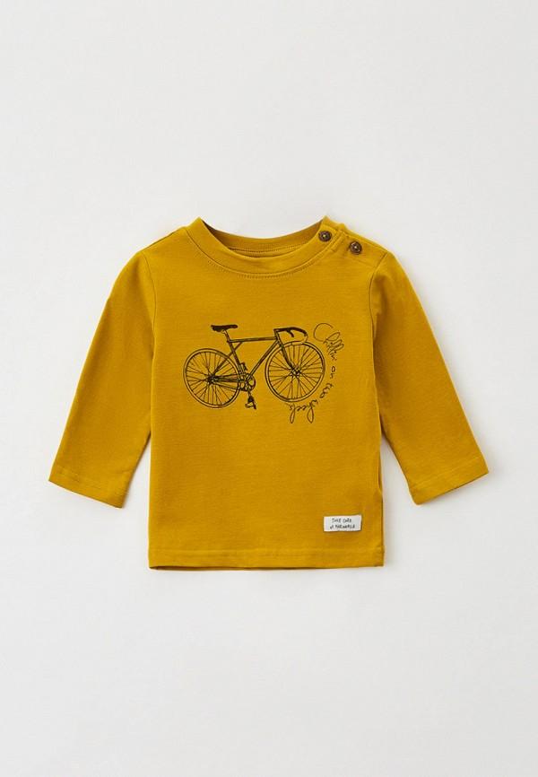 лонгслив coccodrillo для мальчика, желтый