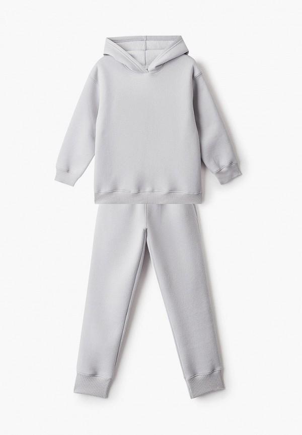 Костюм спортивный для мальчика Ete Children цвет серый