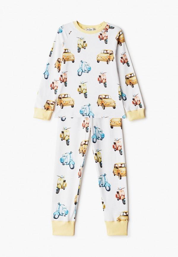 Пижама для мальчика Ete Children цвет белый