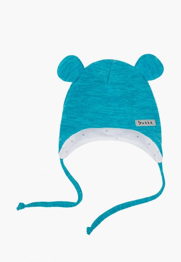 шапка zukka для мальчика, голубая