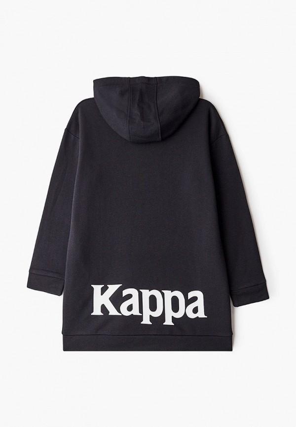 Худи Kappa цвет черный  Фото 2