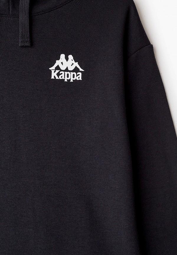 Худи Kappa цвет черный  Фото 3