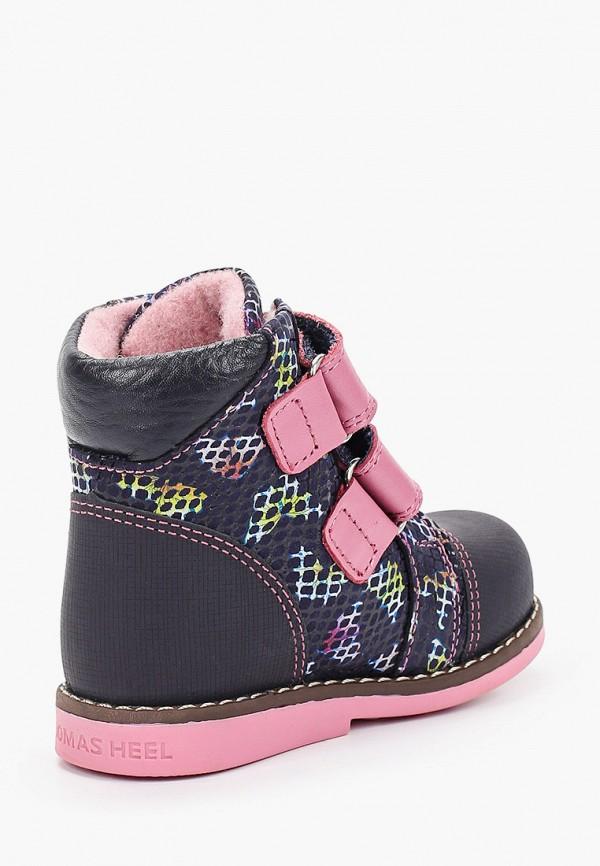 Ботинки для девочки Shagovita цвет синий  Фото 3