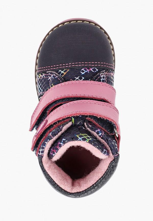 Ботинки для девочки Shagovita цвет синий  Фото 4