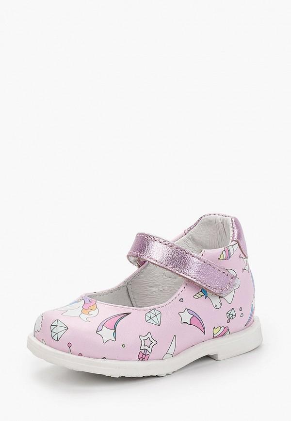 Туфли для девочки Shagovita цвет розовый  Фото 2