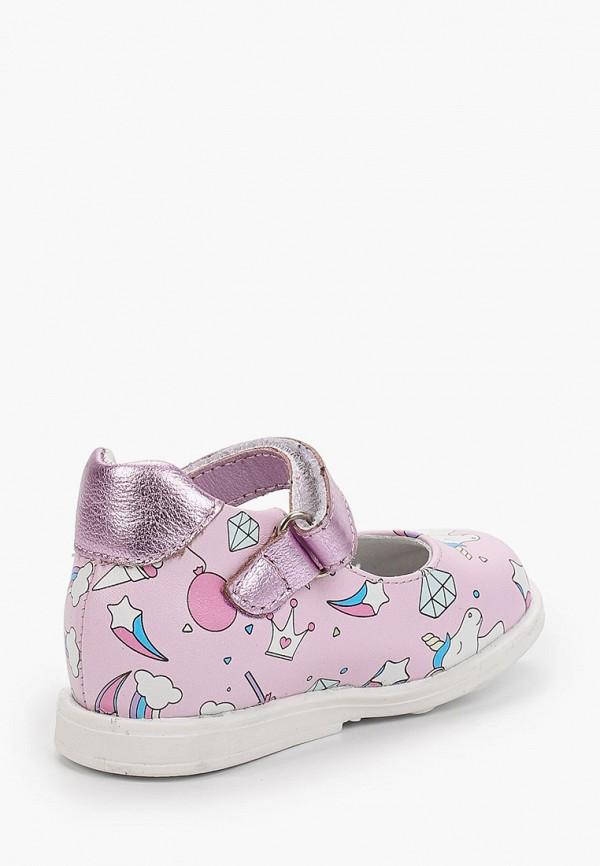 Туфли для девочки Shagovita цвет розовый  Фото 3