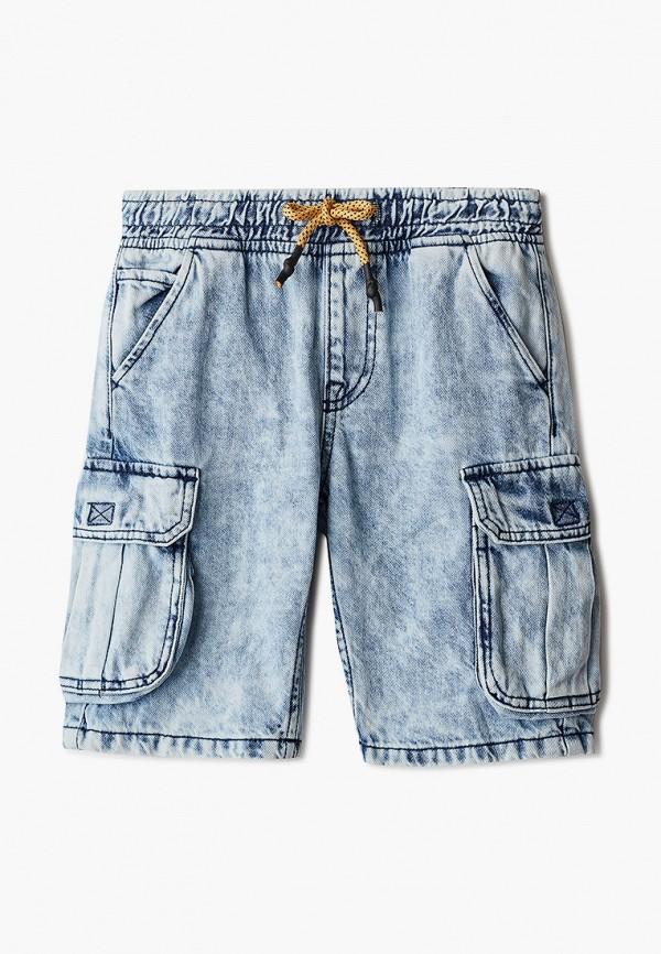 Шорты для мальчика джинсовые O'stin цвет голубой