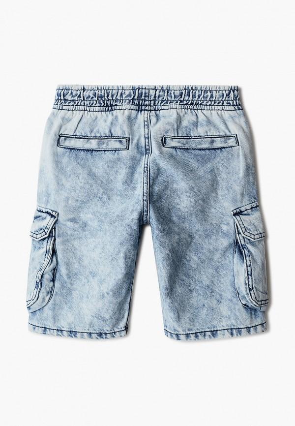 Шорты для мальчика джинсовые O'stin цвет голубой  Фото 2