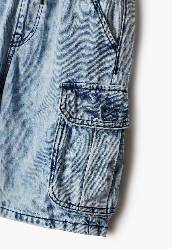 Шорты для мальчика джинсовые O'stin цвет голубой  Фото 3