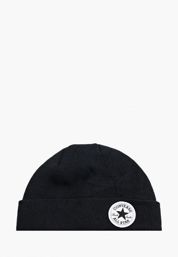 шапка converse для мальчика, черная