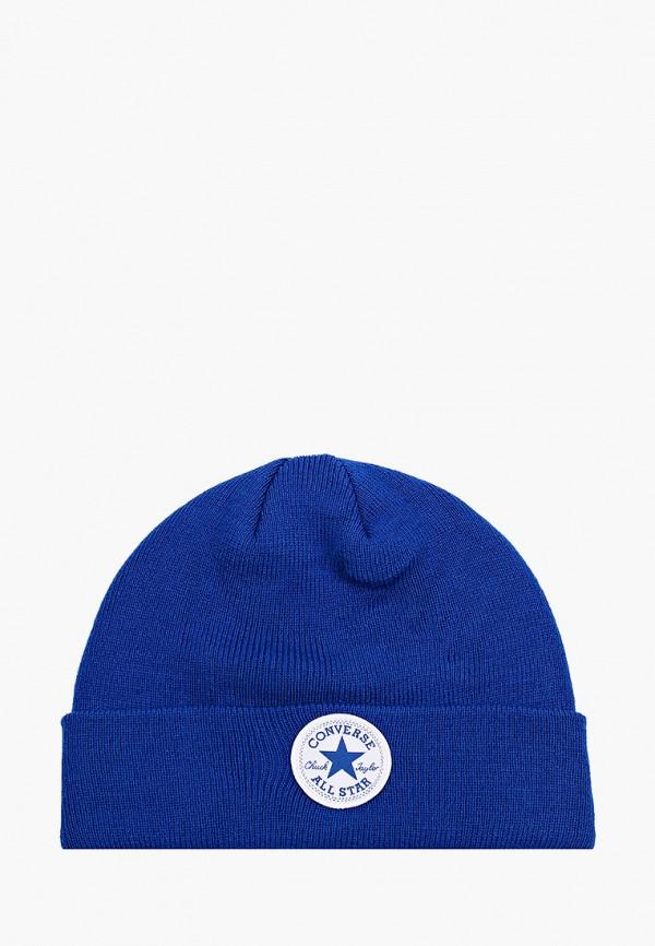 шапка converse для мальчика, синяя