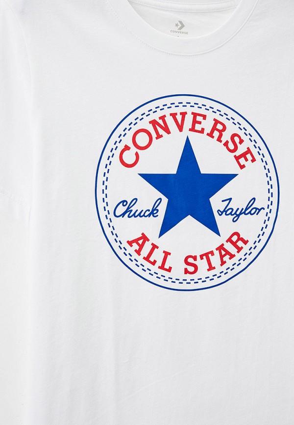 Футболка для мальчика Converse цвет белый  Фото 3