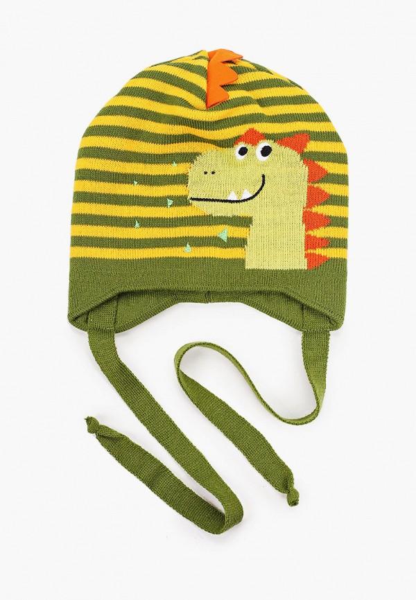 Шапка детская Prikinder цвет зеленый