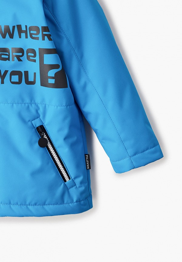 Куртка для мальчика утепленная Nikastyle  Фото 3