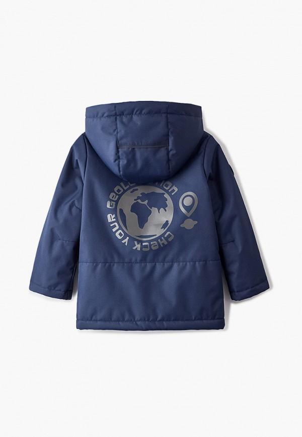 Куртка для мальчика утепленная Nikastyle цвет синий  Фото 2