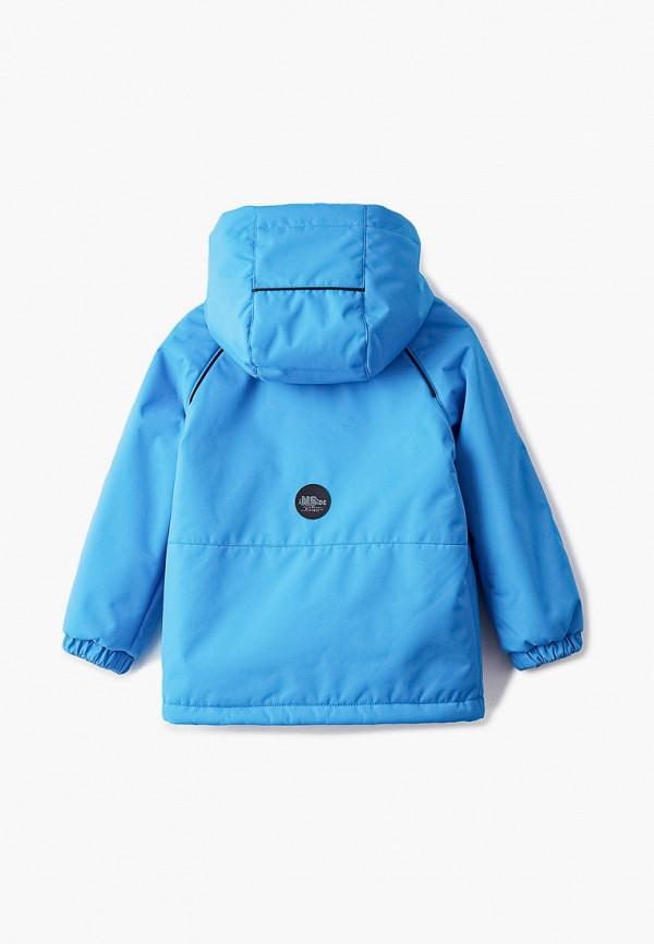 Куртка для мальчика утепленная Nikastyle цвет голубой  Фото 2