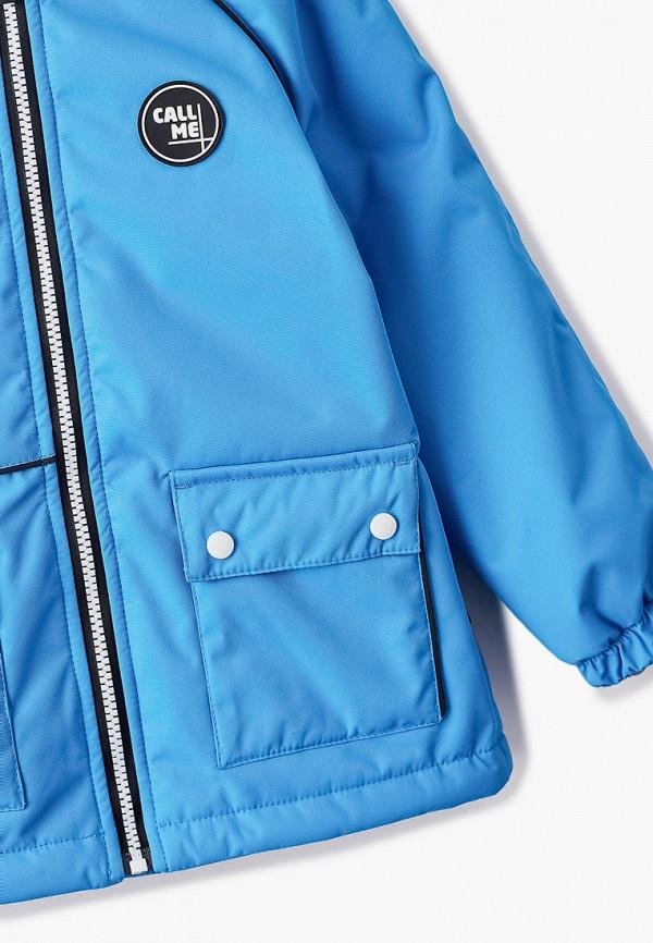 Куртка для мальчика утепленная Nikastyle цвет голубой  Фото 3
