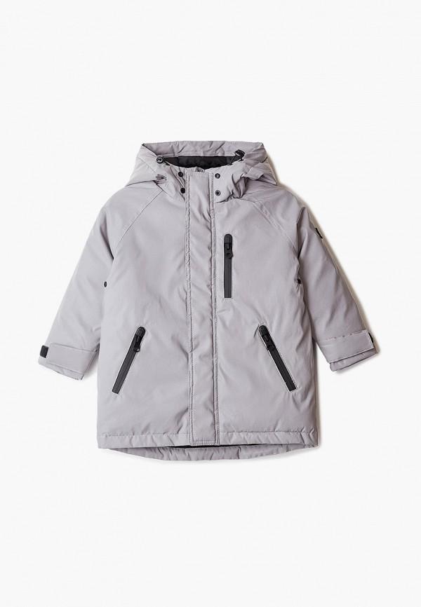 Куртка для мальчика утепленная Sela цвет серый