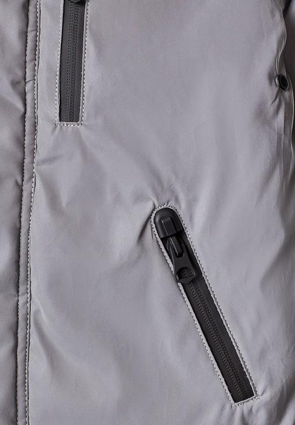 Куртка для мальчика утепленная Sela цвет серый  Фото 3