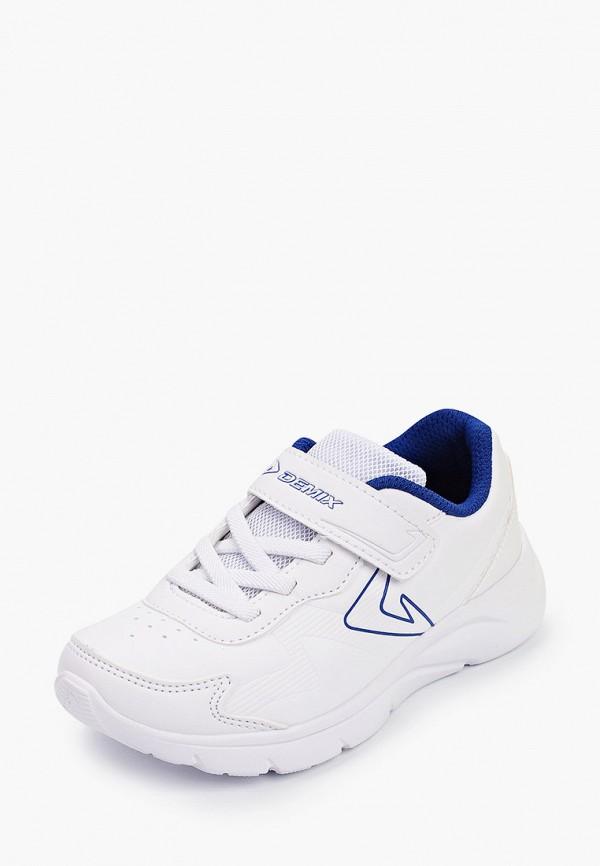 Кроссовки для мальчика Demix цвет белый  Фото 2