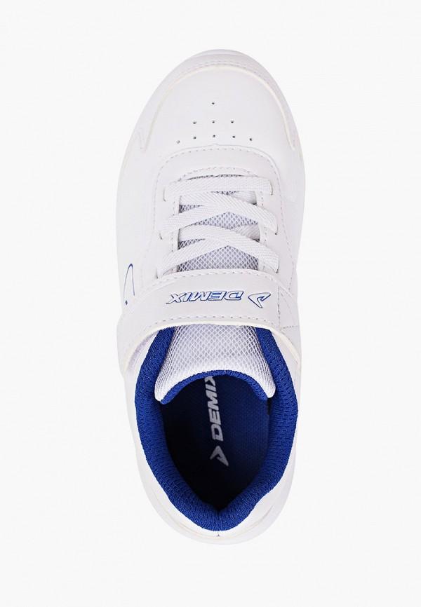 Кроссовки для мальчика Demix цвет белый  Фото 4
