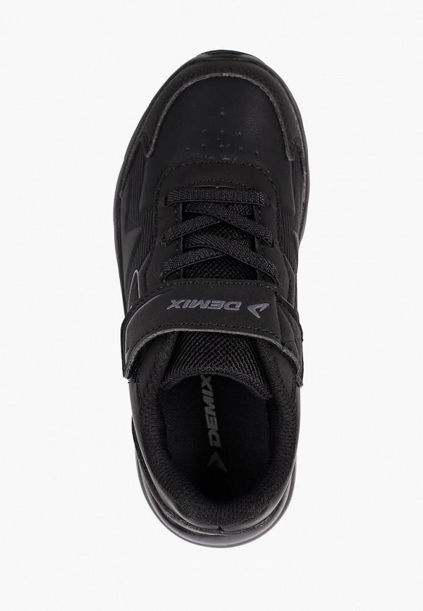 Кроссовки для мальчика Demix цвет черный  Фото 4