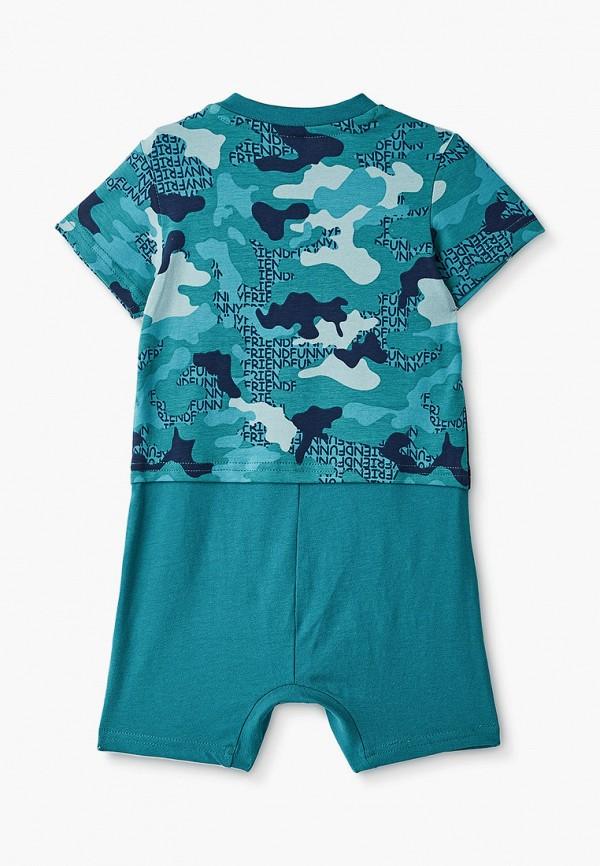 Детский комбинезон PlayToday цвет бирюзовый  Фото 2