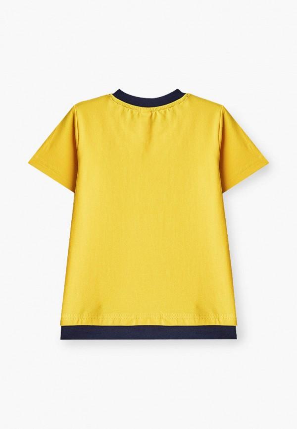 Футболка для мальчика PlayToday цвет желтый  Фото 2