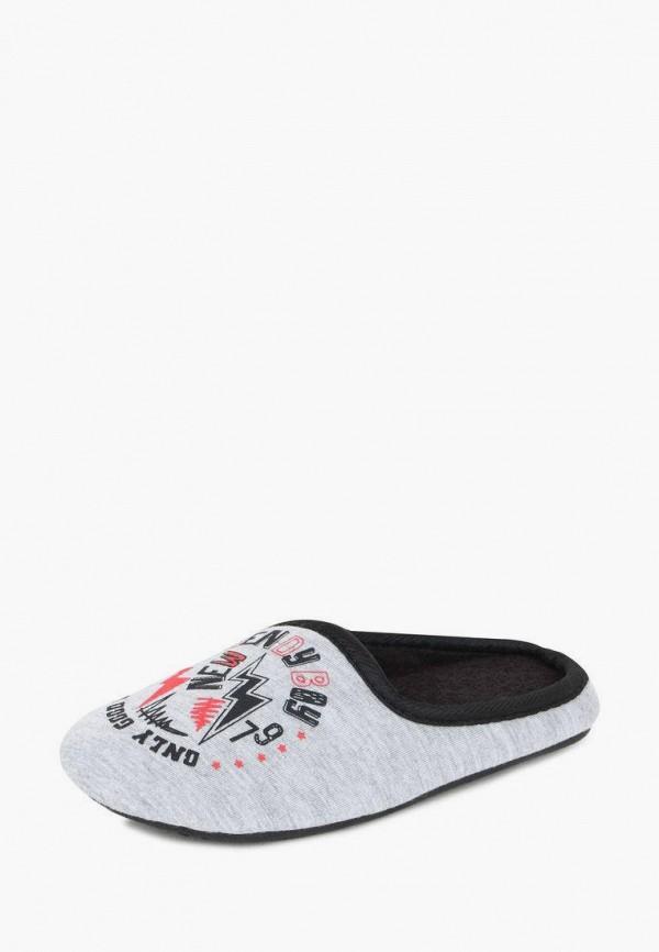Тапочки для мальчика T.Taccardi цвет серый  Фото 2