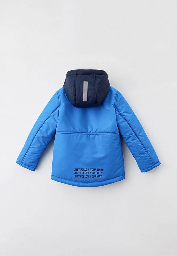 Куртка для мальчика утепленная Артус цвет голубой  Фото 2