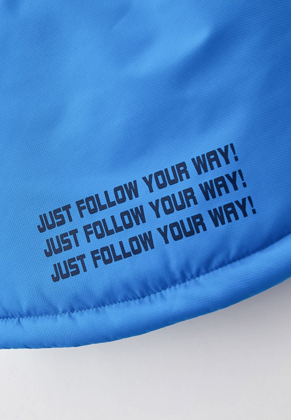 Куртка для мальчика утепленная Артус цвет голубой  Фото 3