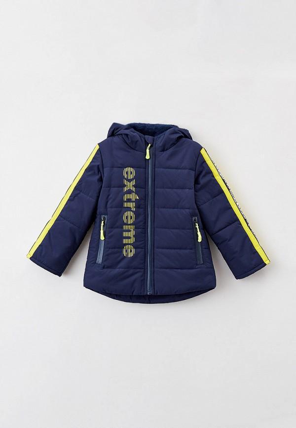 Куртка для мальчика утепленная Артус цвет синий