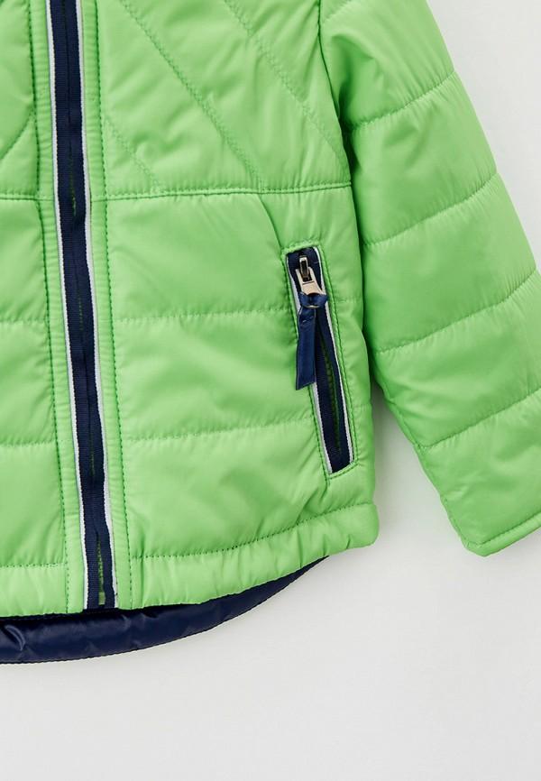 Куртка для мальчика утепленная Артус цвет зеленый  Фото 3