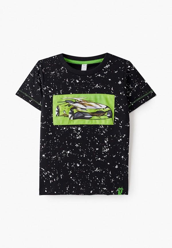 Футболка для мальчика PlayToday цвет черный