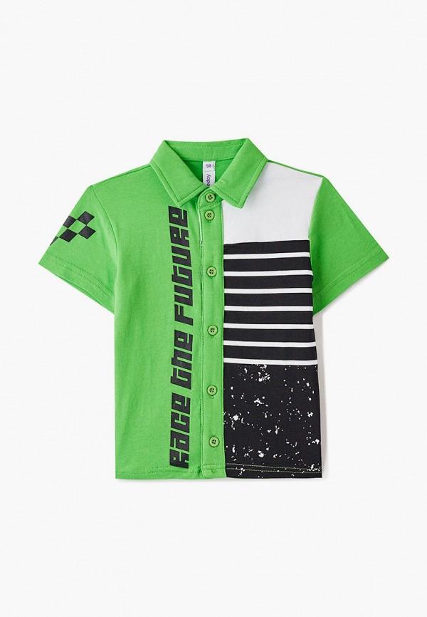 Поло для мальчика PlayToday цвет зеленый