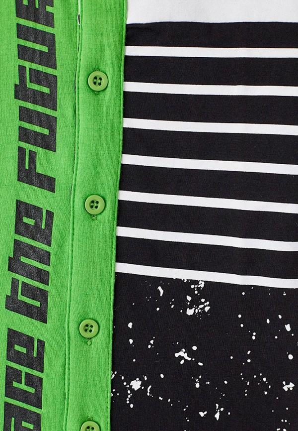 Поло для мальчика PlayToday цвет зеленый  Фото 3