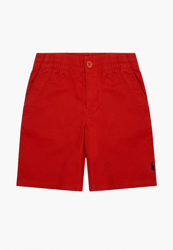 шорты polo ralph lauren для мальчика, красные