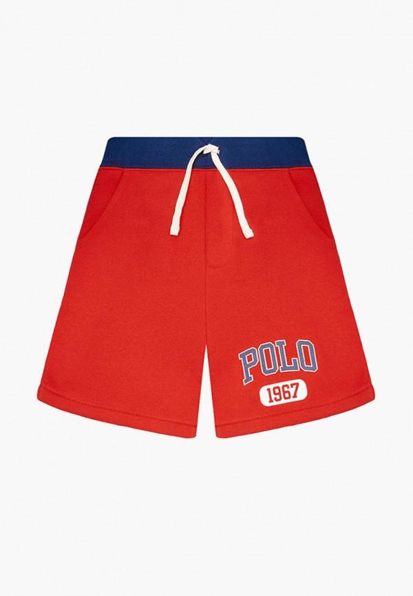 спортивные шорты polo ralph lauren для мальчика, красные
