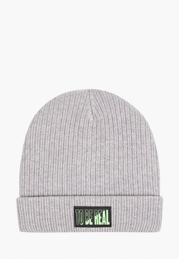 шапка acoola для мальчика, серая