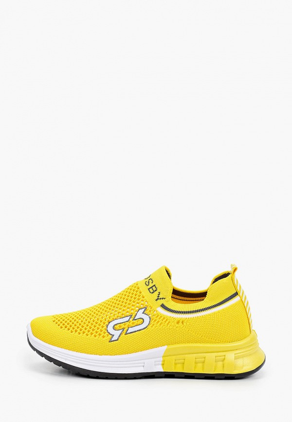 кроссовки crosby для мальчика, желтые