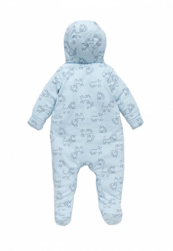 Детский комбинезон утепленный Artie цвет голубой  Фото 2