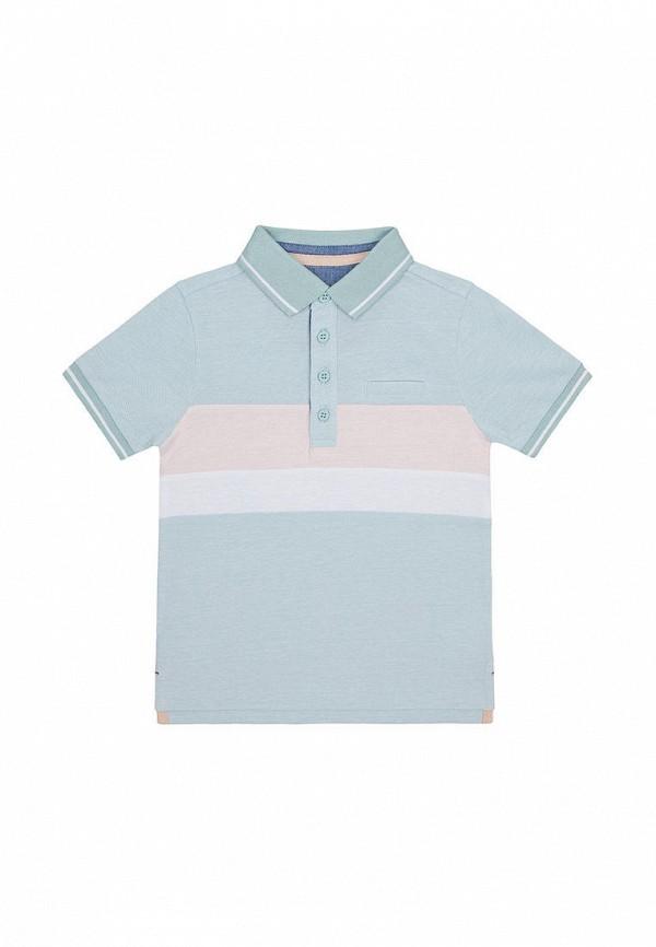Поло для мальчика Mothercare цвет голубой